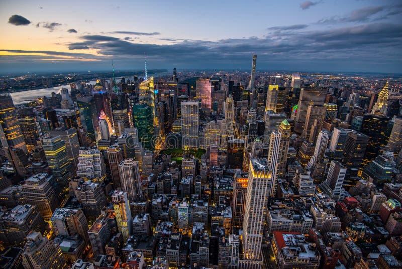 Манхаттан - город новой работы - США стоковые фото
