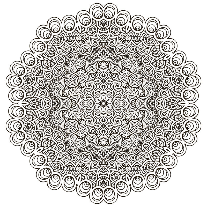 мандала иллюстрация штока