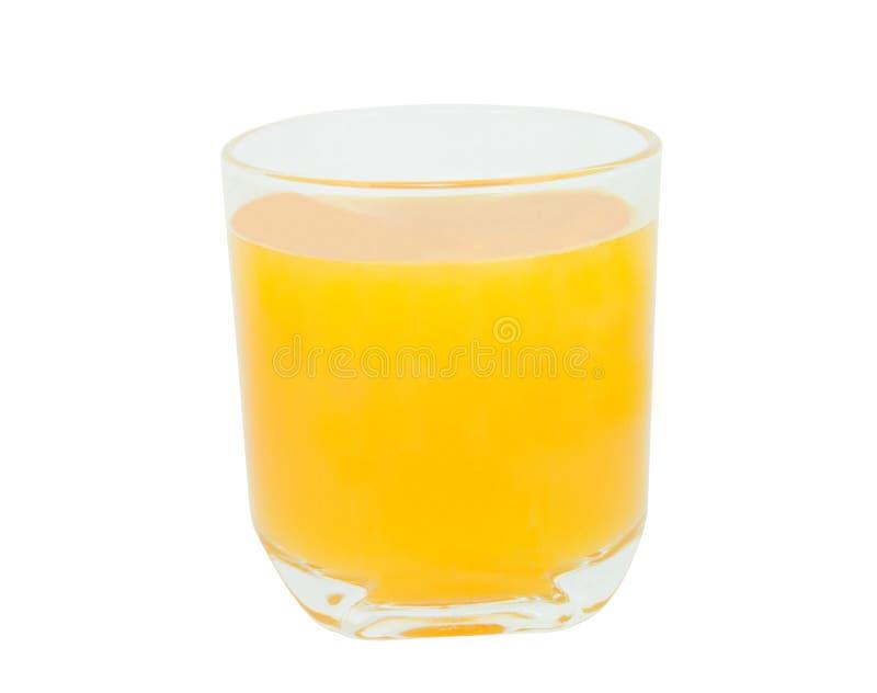 Маракуйя и сок в стекле стоковое изображение