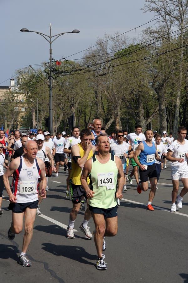 марафон стоковые фотографии rf
