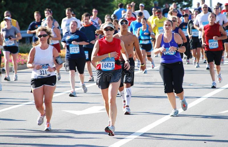 марафон 2 стоковые изображения