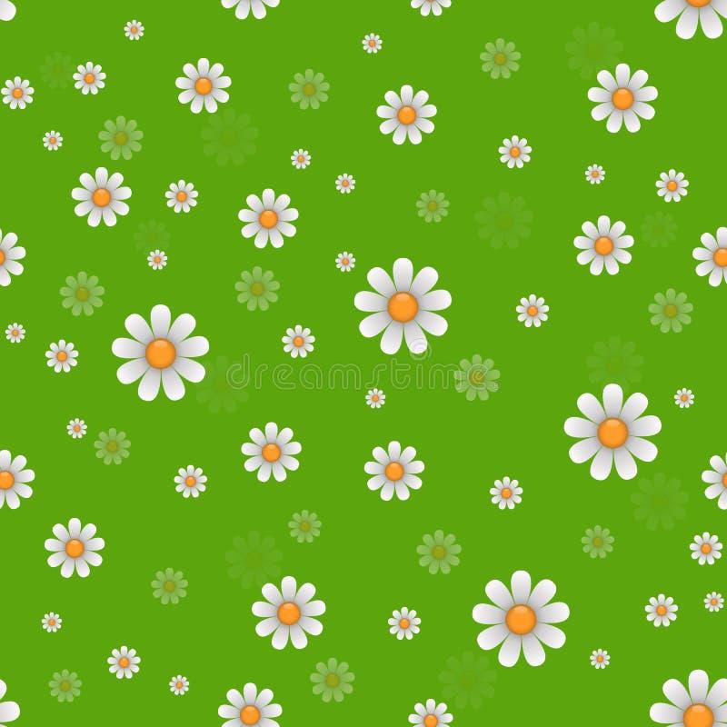 Маргаритка цветет texture вектор бесплатная иллюстрация