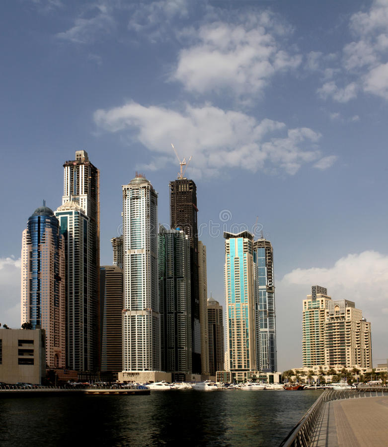 Download Марина Дубай стоковое фото. изображение насчитывающей выпуклины - 17603948