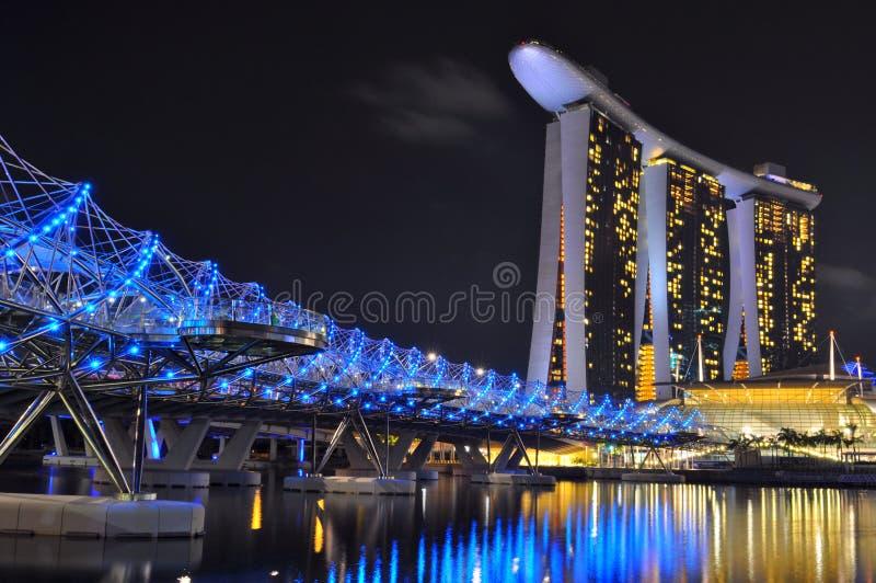 Марина залива зашкурит singapore стоковое изображение