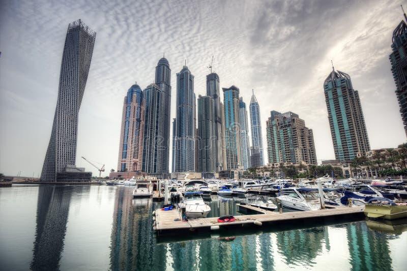 Марина ОАЭ Дубай стоковое изображение