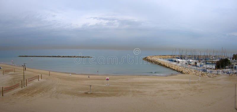 Марина пляжа стоковое изображение rf