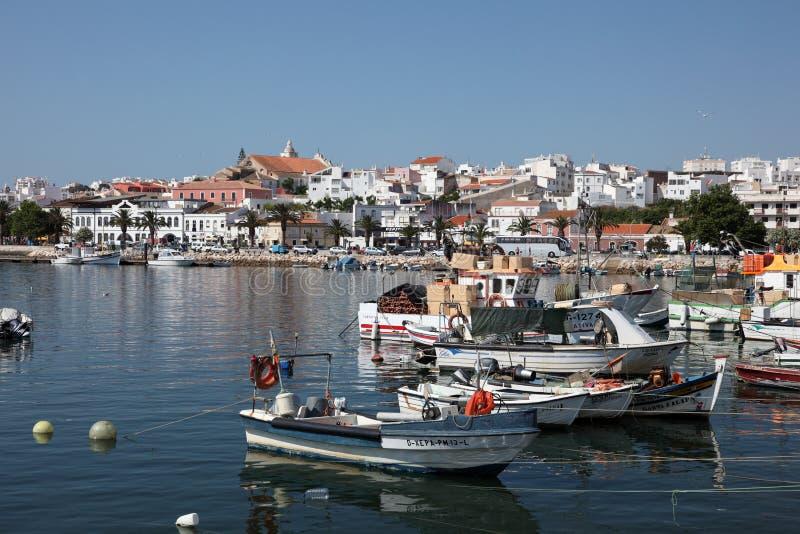 Марина Португалия lagos стоковое изображение