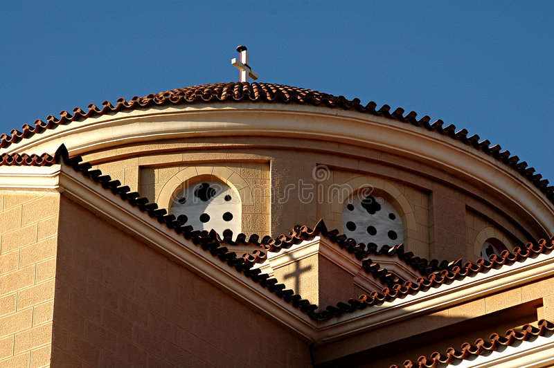 Марина церков agia стоковая фотография