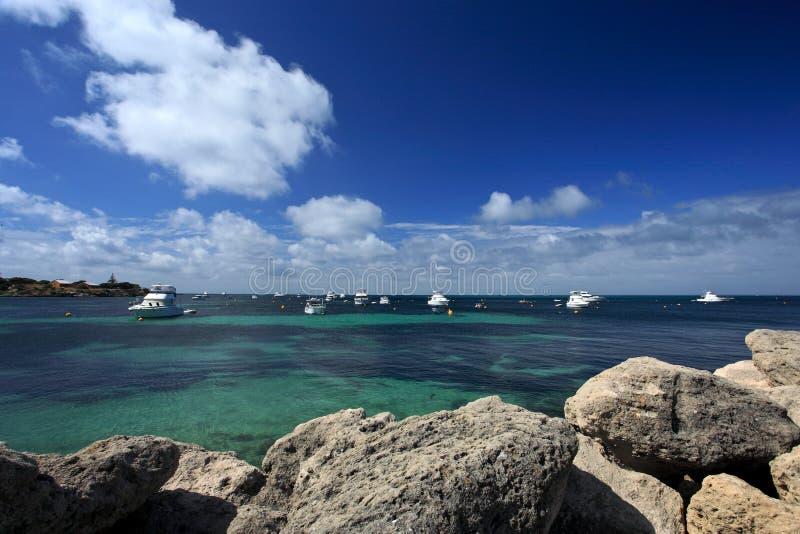 Марина яхт, западная Австралия стоковые фото