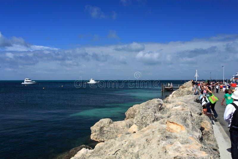 Марина яхт, западная Австралия стоковое фото rf