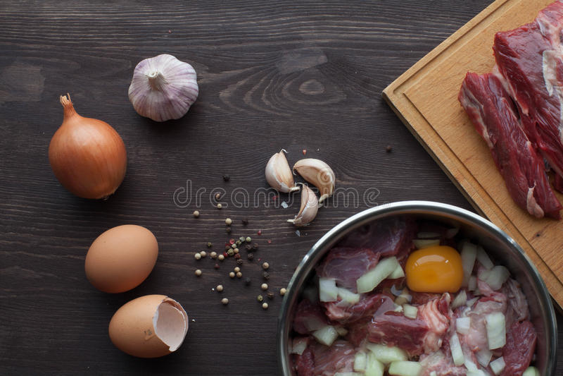 Маринад для мяса стоковая фотография