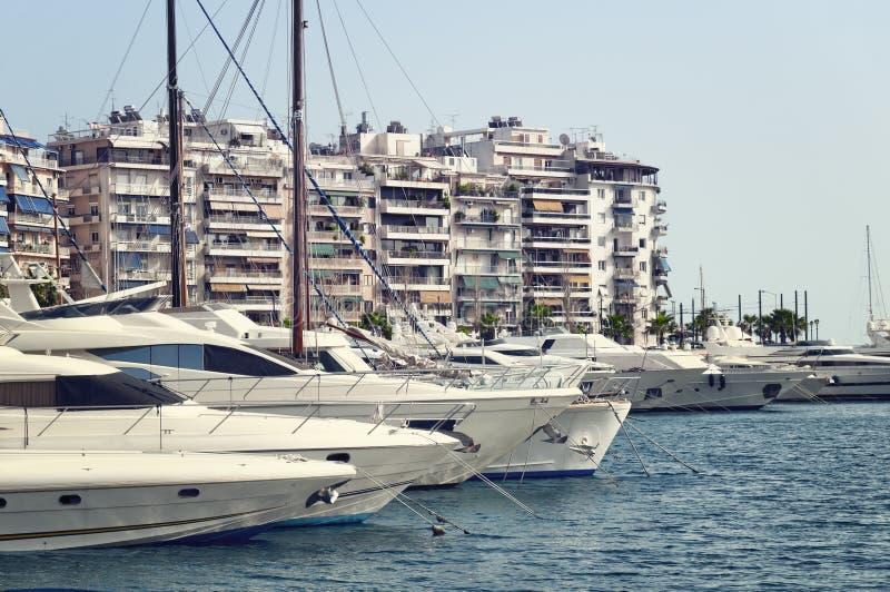 Марина piraeus athens стоковые фотографии rf