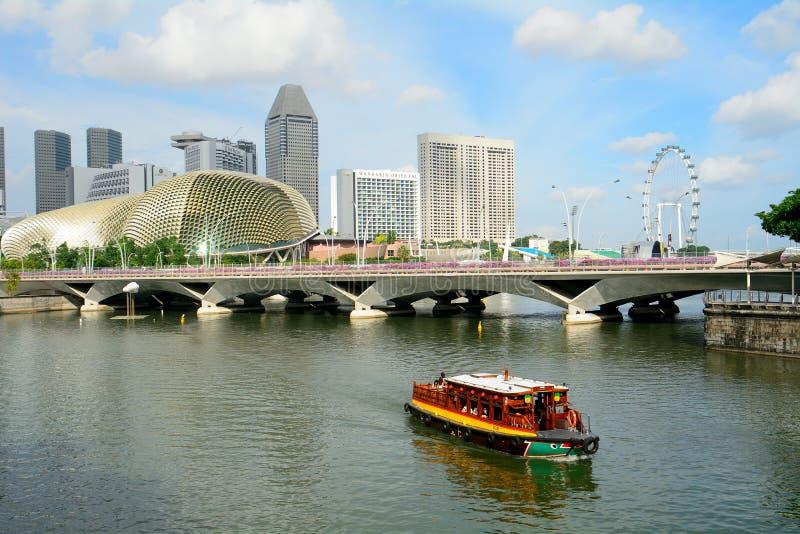 Марина singapore залива стоковые фотографии rf