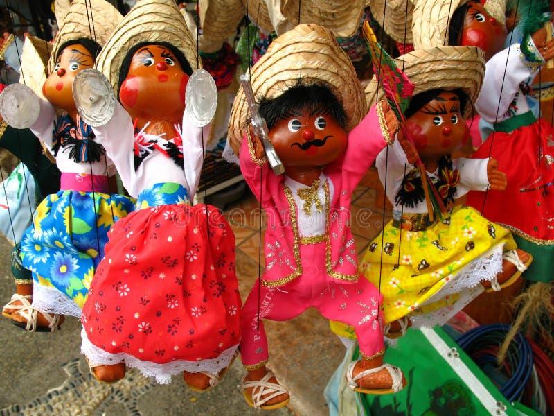 марионетка мексиканца кукол стоковые изображения