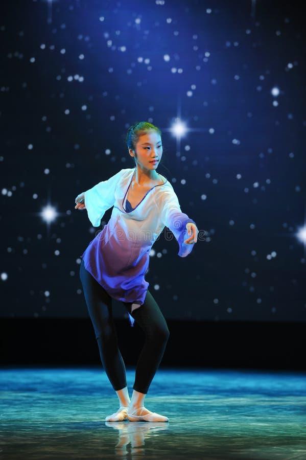 Марионетка-национальный танец стоковое фото rf