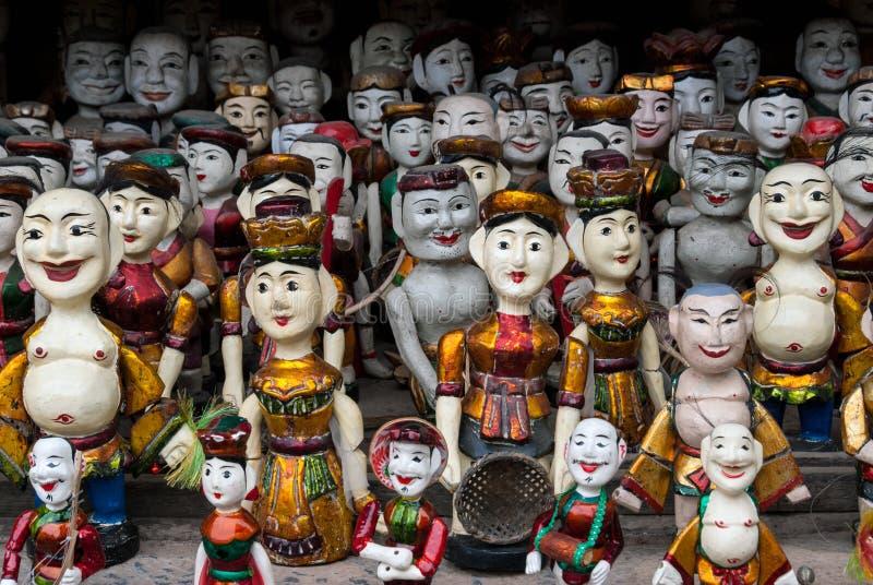 Марионетки в Вьетнаме стоковые фото