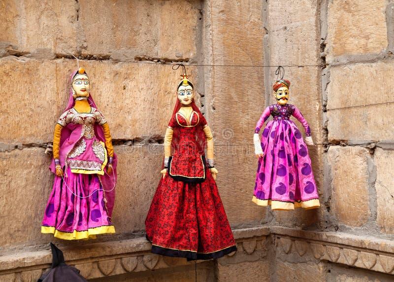 Марионетки Раджастхана стоковое фото