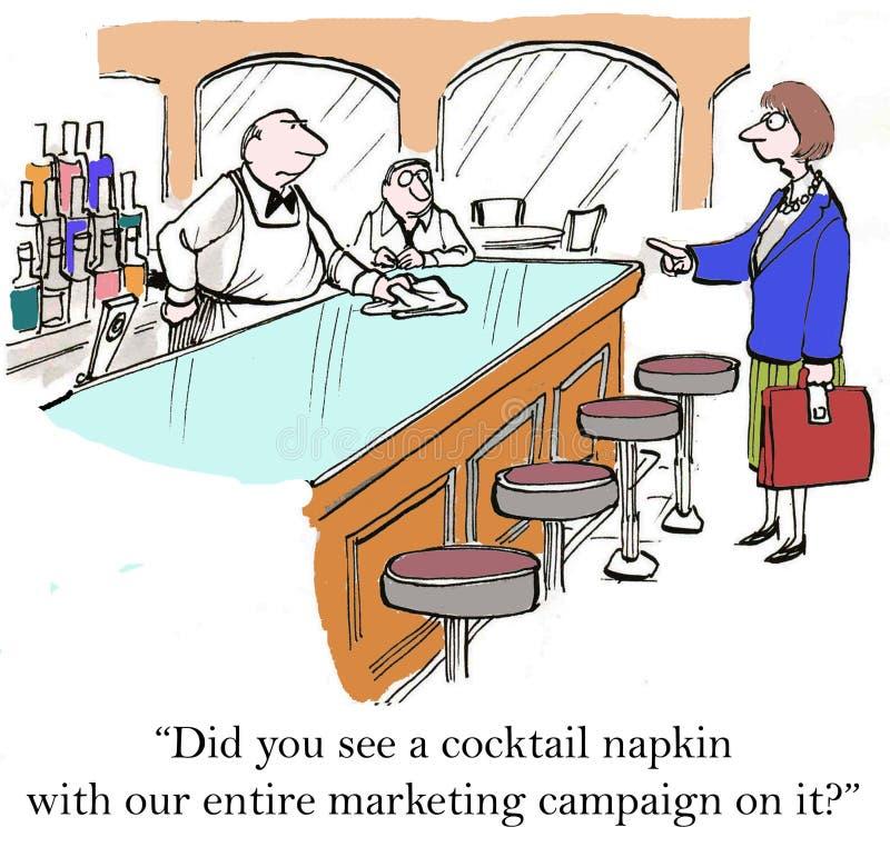 Маркетинговая кампания бесплатная иллюстрация