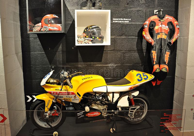 Марк Marquez Museum-2019 стоковые изображения