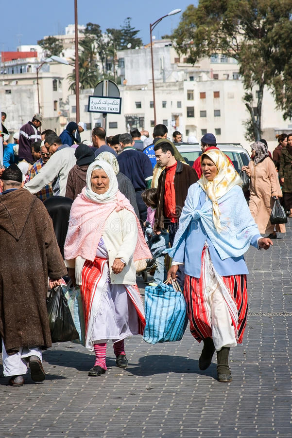 Марокканськие люди стоковые фото