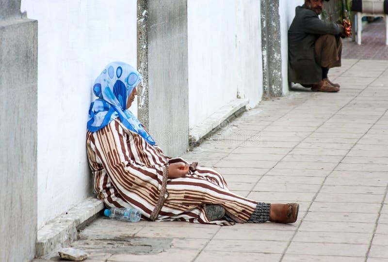 Марокканськие люди стоковое изображение rf