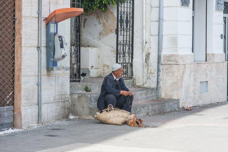 Марокканськие люди стоковые фотографии rf