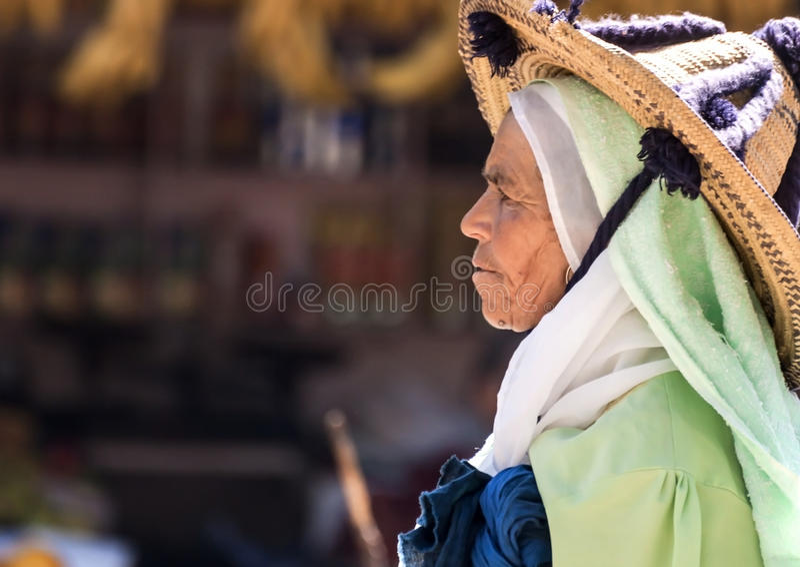 Марокканськие люди стоковая фотография
