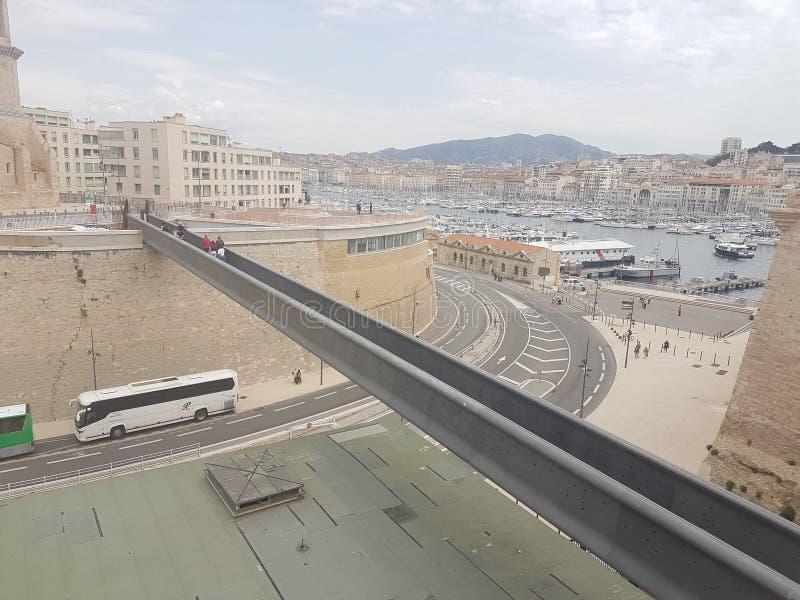 Марсель моста стоковое изображение rf