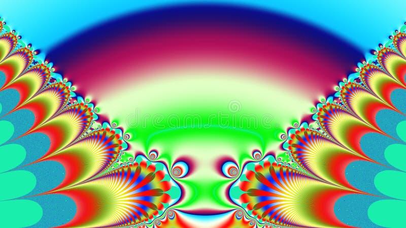 Марсианская ящерица более широкая иллюстрация вектора
