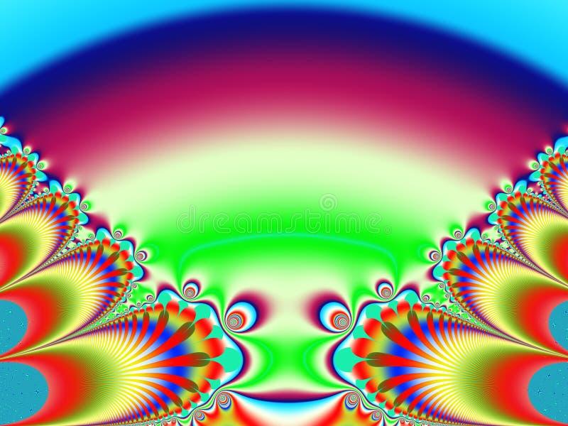 Марсианская ящерица иллюстрация вектора