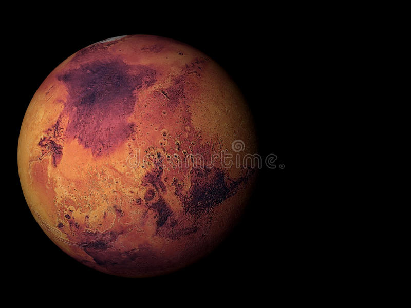 Марс иллюстрация штока