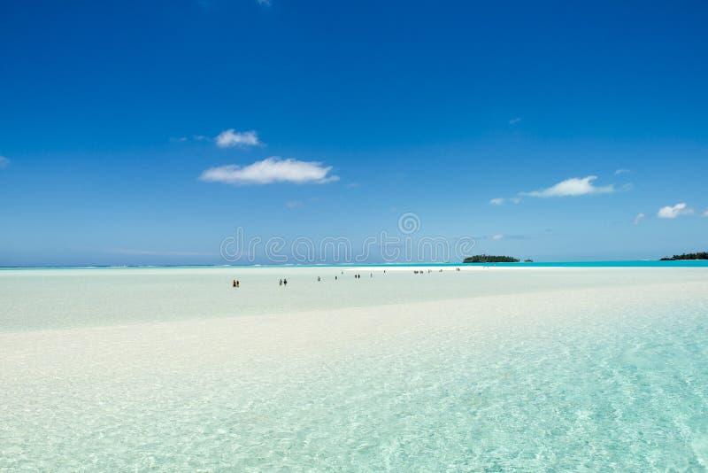 Март к острову мечт стоковое фото rf