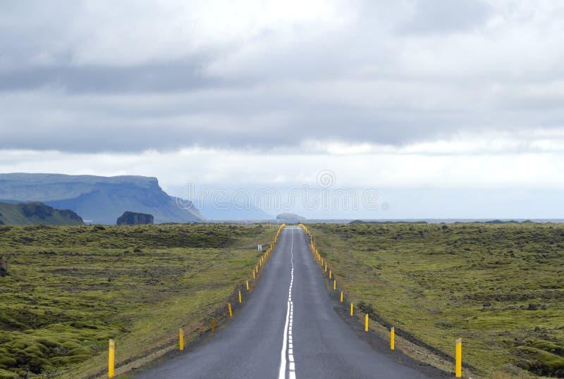 Маршрут Исландия кольцевой дороги стоковые фото