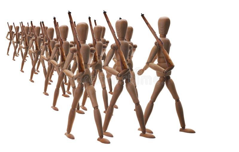 марш стоковое изображение rf