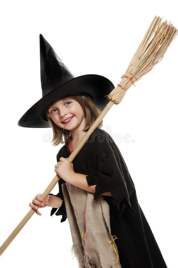 Маска ведьмы Halloween стоковое фото