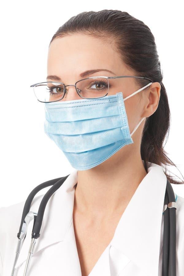 маска доктора защитная стоковые изображения rf