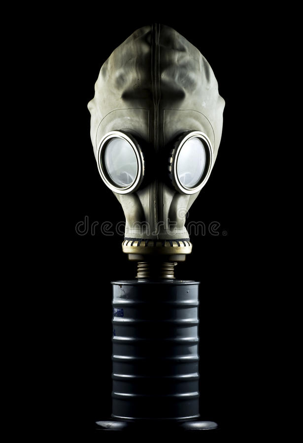 маска изолированная газом стоковые изображения
