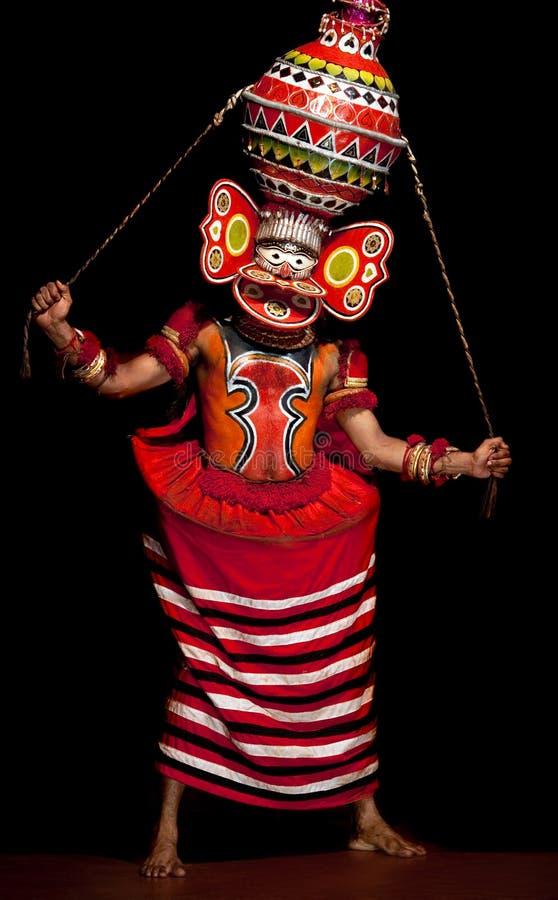 маска индейца актера стоковые изображения