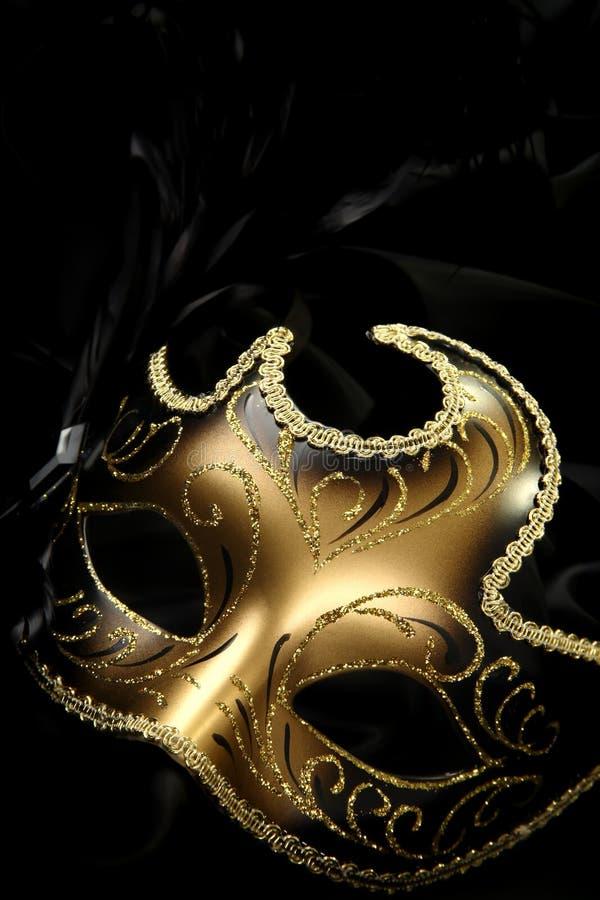 маска масленицы богато украшенный стоковое фото