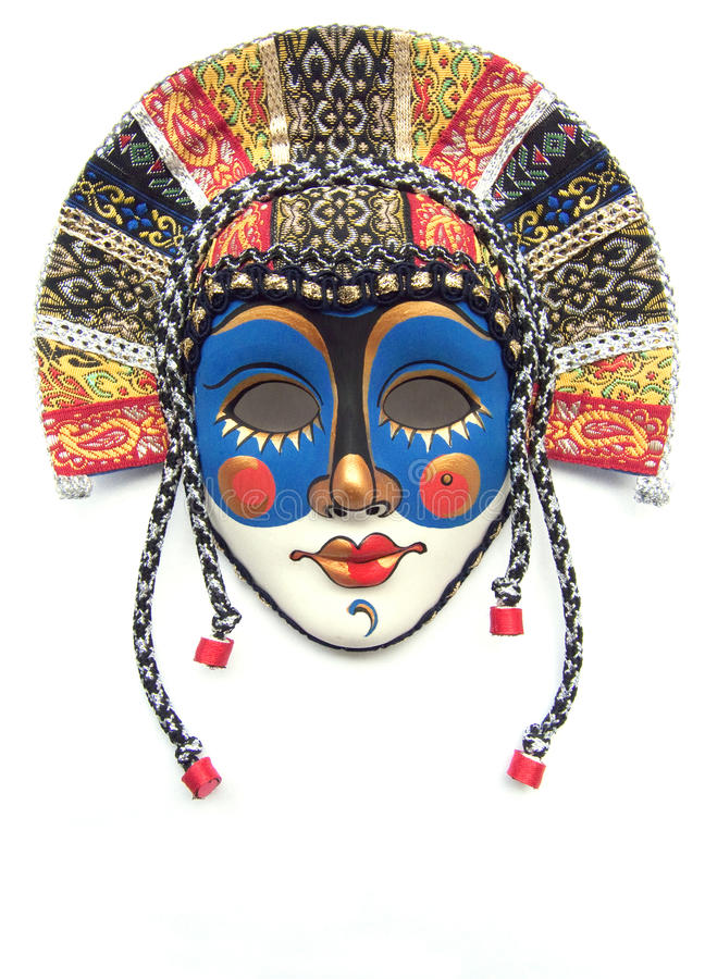 маска масленицы стоковое изображение rf