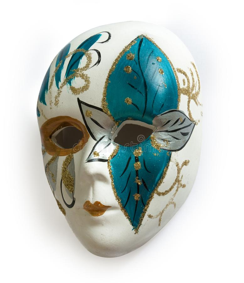 маска масленицы venetian