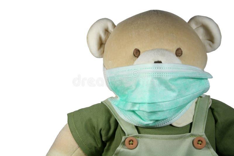 маска медведя стоковое изображение