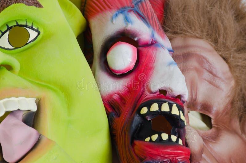 Маска хеллоуина стоковое фото rf