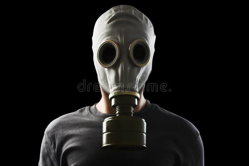 маска человека газа стоковое фото rf