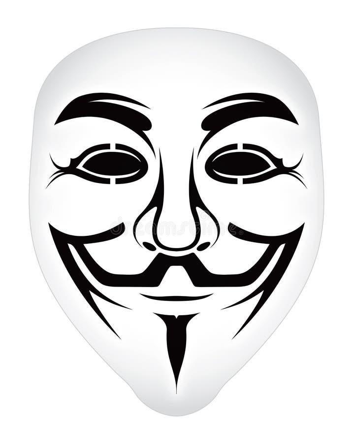 маска nonymous бесплатная иллюстрация