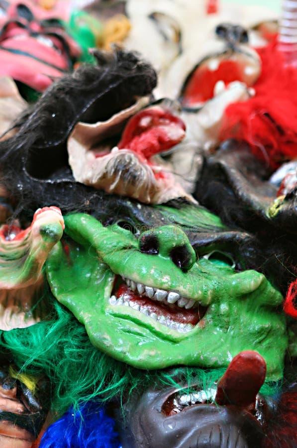 маски halloween стоковое изображение rf