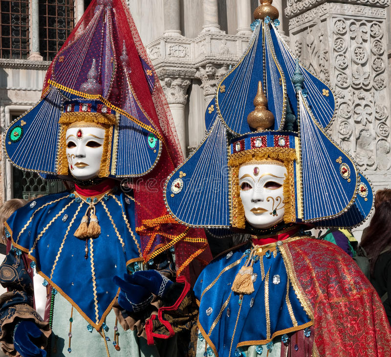 масленица 2011 маскирует venice стоковые изображения rf
