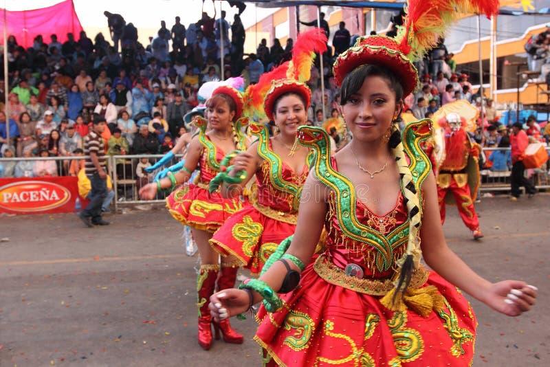 Масленица Oruro стоковые изображения rf
