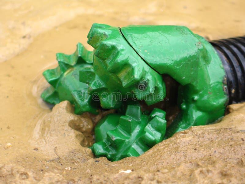 масло бурового раствора бита стоковое изображение