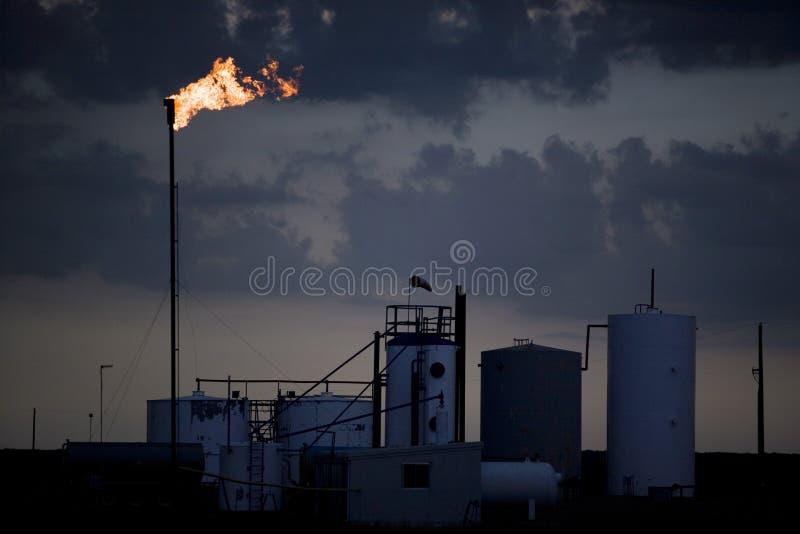 масло газовой промышленности стоковые фото